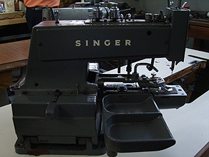 Maquina Botonera Singer
